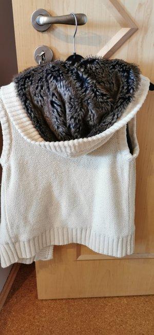 Pimkie Gilet tricoté blanc