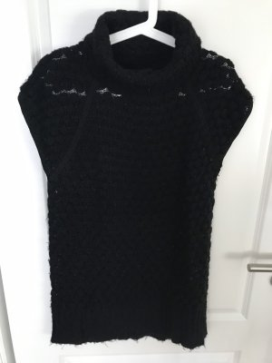mbyM Sweater met korte mouwen zwart