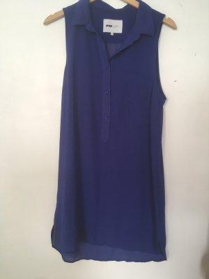pop cph Vestido camisero azul