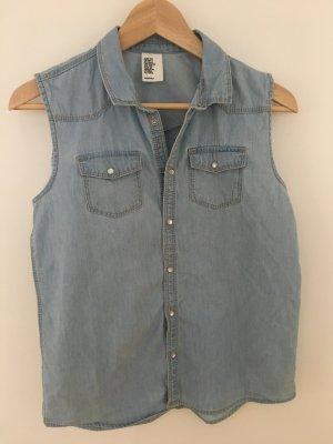 H&M Denim Shirt azure