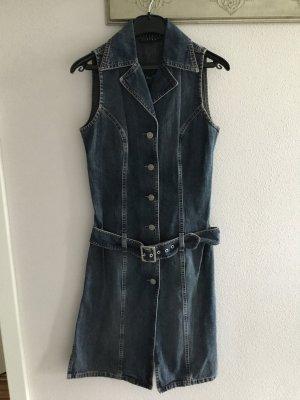 Ärmelloses Jeanskleid von Sisley