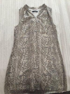 Ärmelloses Kleid Animal Print