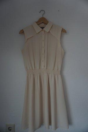 Ärmelloses Kleid mit Kragen