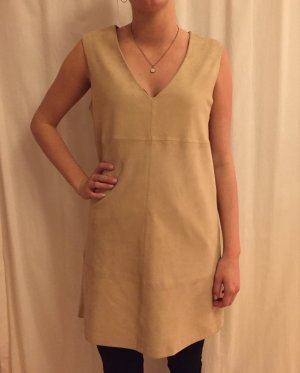 Benetton Leather Dress camel leather