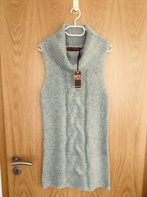 QED London Sweater Dress light grey