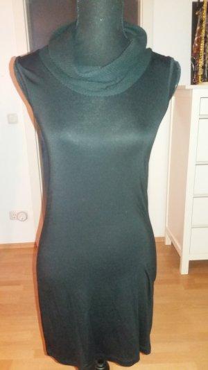 ärmelloses schwarzes schickes Kleid von Zero mit Viskose