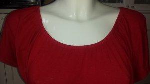 Ärmelloses Shirt in einem super rot AMISU