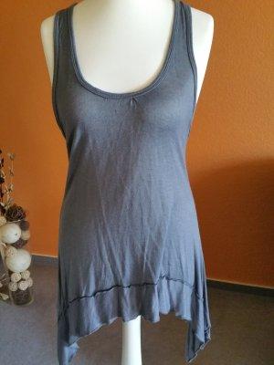 Camicia a tunica grigio