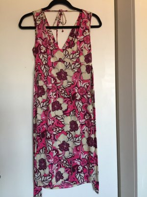 ärmelloses Sommerkleid, schöner Rückenausschnitt, Größe 36