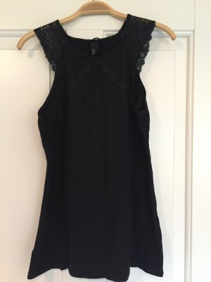 H&M Lace Top black cotton