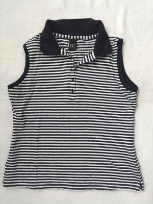 BC T-shirt rayé blanc-noir coton