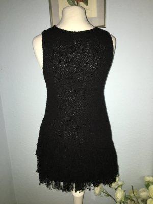 H&M Top lavorato a maglia nero