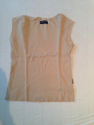 Ärmelloses T-Shirt mit raffiniertem Cut von Guess, Gr. S