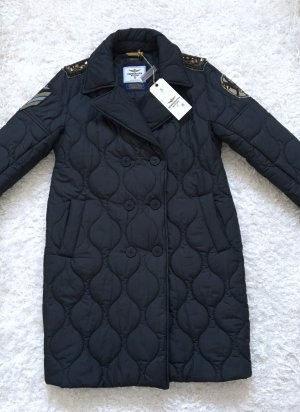 Aeronautica Militare Manteau d'hiver noir