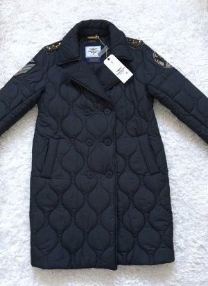 Aeronautica Militare Abrigo de invierno negro