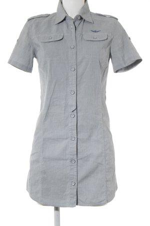 Aeronautica Militare Robe chemise motif rayé style militaire