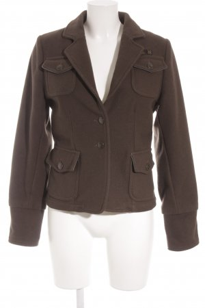 Aeronautica Militare Veste courte brun style anglais
