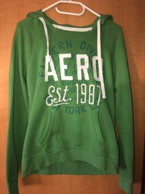 Aeropostale hoodie in einem schönen grün