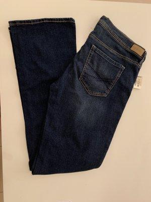 Aeropostale Boot Cut Jeans dark blue