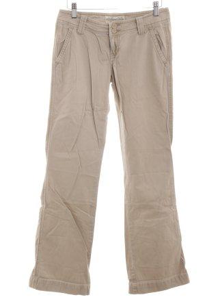 Aeropostale Pantalon pattes d'éléphant blanc cassé style décontracté
