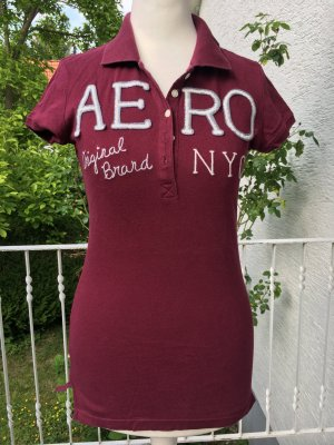 Aeropostale Polo Shirt bordeaux