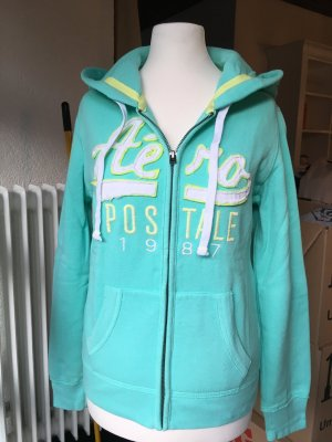 Aeropostale Sweat Jacket turquoise