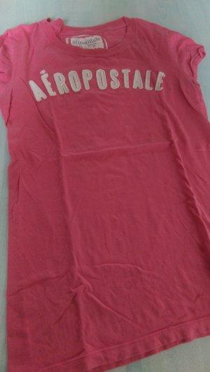 Aeropostale T-shirt rose-blanc