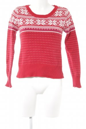 Aeropostale Christmasjumper abstract pattern country style