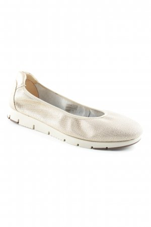 Aerosoles faltbare Ballerinas goldfarben Casual-Look