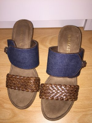 Aerosoles Sandals brown-dark blue