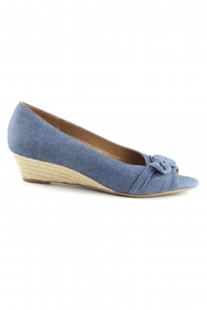 Aerosoles Peep Toe Pumps blue casual look