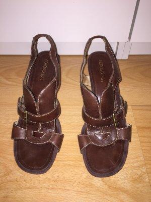 Aerosoles Sandals dark brown-brown