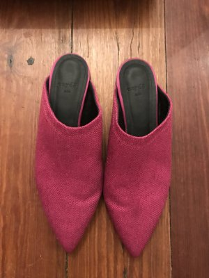 "Aeyde Slipper ""Vera"" in Hot Pink"