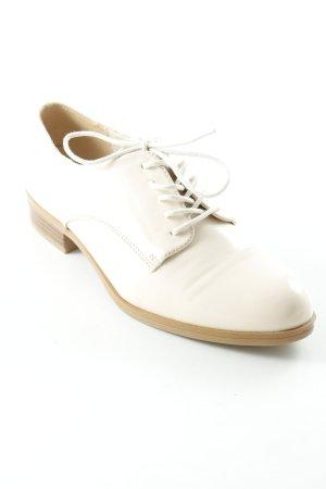 AF Lace Shoes nude-cognac-coloured elegant