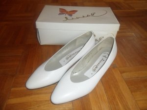 afis Loafers white leather