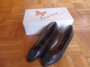 afis Loafers black leather