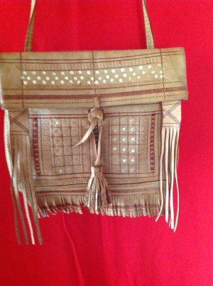 Shoulder Bag camel leather
