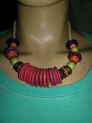 Afrikanische Halskette- Handarbeit - 50 cm