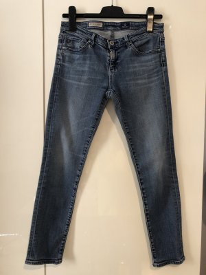 Adriano Goldschmied 7/8 Length Jeans cornflower blue