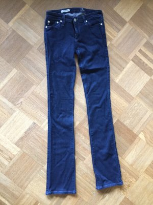 Adriano Goldschmied Skinny Jeans dark blue cotton