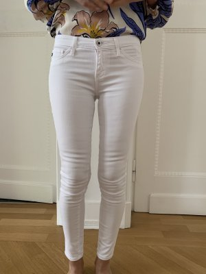 Adriano Goldschmied Jeans blanc coton