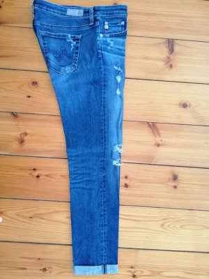 AG Jeans The Stilt Roll Up destroyed skinny