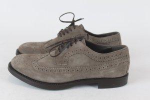 AGL Chaussures à lacets bronze daim