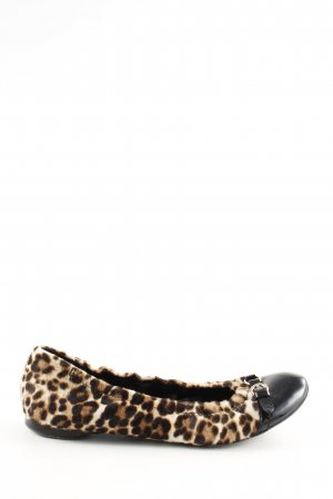 AGL Ballerinas with Toecap leopard pattern extravagant style