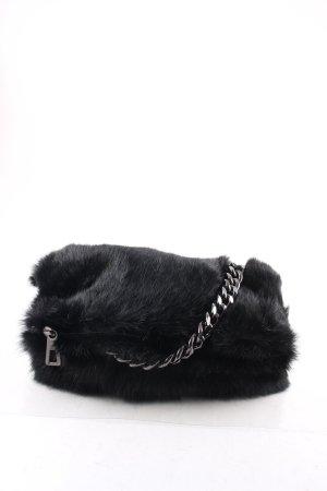 AGL Clutch schwarz extravaganter Stil