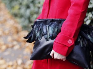 AGL Clutch schwarz Party-Look