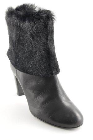 AGL Reißverschluss-Stiefeletten schwarz minimalistischer Stil