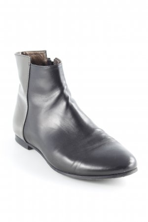 AGL Zipper Booties black brown-silver-colored street-fashion look
