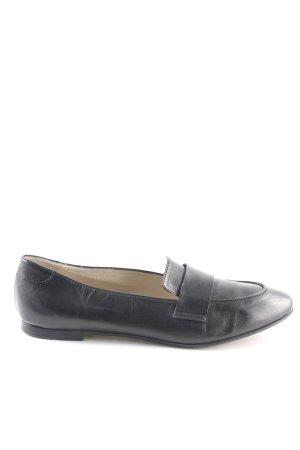 AGL Zapatos sin cordones negro estilo «business»