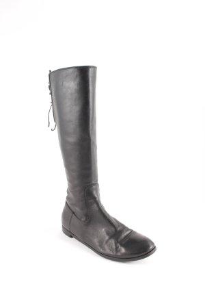 AGL Stiefel schwarz Casual-Look
